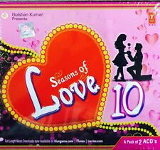 SEASONS OF LOVE 10 ROMANTIC SONGS - 2 CD BOLLYWOOD COMPILATION SET - FREE POST