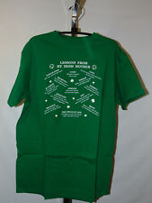 LESSONS FROM MY IRISH MOTHER GREEN T-SHIRT SIZE YOUTH 5T
