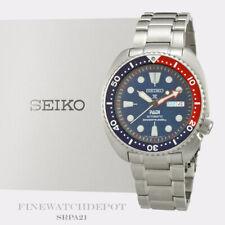 Authentic Men's Seiko Prospex Padi Special Edition Black Dial Watch SRPA21