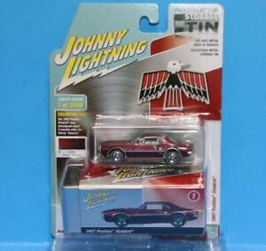 JOHNNY LIGHTNING 2020 Collector Tin R2/B - 1967 Pontiac Firebird (Burgundy)