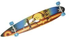 Longboard Sportbanditen Surfs Up 46 Zoll 115cm Design Komplettboard