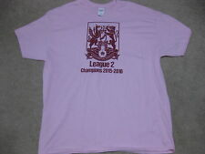 Northampton Town 2016 League 2 Champions Pink T-Shirt XL New Cobblers Two Soccer