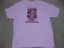 Northampton Town 2016 League 2 Champions Pink T-Shirt XL New Cobblers England