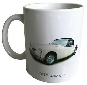 MGA 1600 1959  -  11oz  Ceramic Mug - Ideal Gift for the MG Enthusiast