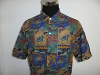 TORI RICHARD Hawaii Hemd aloha shirt marquises made in USA hawaiihemd Gr.XL