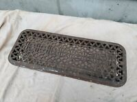 Antique Cast iron Radiator topper Cover  23 x 9 x 3 1/2""