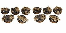 10x 25mm Terrain Bases - Suit Commander Warrior Team Wargame Exclusive [for Tau]
