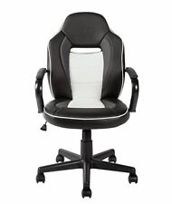 HOME Mid Back Gaming Chair - Black & White