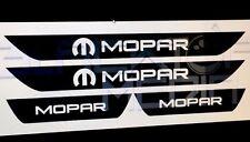 MOPAR Dodge Charger Vinyl Door Sill Decals 2013 2014 2015 2016 2017 2018.