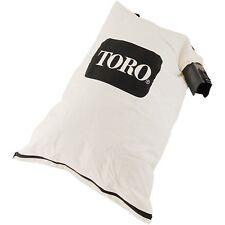 GENUINE OEM TORO PART # 137-2336 BLOWER DEBRIS VACUUM BAG; 108-8994, 127-7040