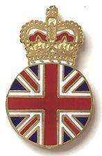 Royal Crown Monarchy Loyalist Badge Enamel Lapel Pin