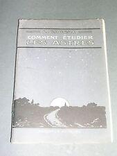 Astronomie téléscopes comment étudier les astres L. Rudaux 1948 gravures