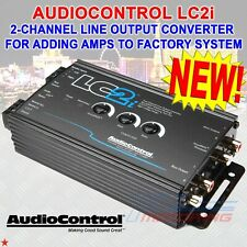 Audiocontrol Lc2i 2-Channel Line Output Converter Add Amps To Factory System New