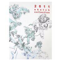 Kim Jung Gi 2011 Sketch Collection Book Drawings Illustration Anime Manga