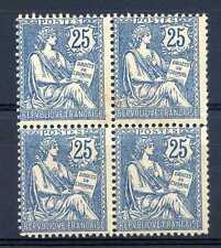 260618).....MOUCHON 127 EN BLOC DE 4 ...LUXE GOMME ORIGINALE  certificat CALVES
