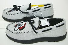 Disney Mickey Mouse Moccasin Slippers House Shoes Mens M 9 10