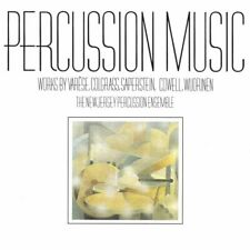 Varese: Ionisation; Wuorinen: Percussion Symphony; other works for percussion Cd