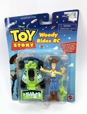 Toy Story Woody Rides RC Action Figure Set Mattel NIP Buzz Rocket Remote Car