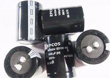 10 x 1000uF 300V ELKO scatto radiale EPCOS #1E30#