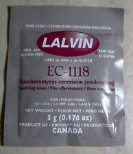 Lalvin Yeast EC-1118 Wine / Champagne Yeast 3 PACK