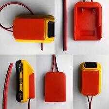 DeWALT Lithium 18V Battery Adaptor Adapter 20V Dock Power Connector 12 Gauge Max