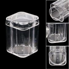 Clear Plastic Square Coin Storage Collection Tube Capsule Box for 27mm Coins