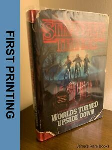 STRANGER THINGS : Worlds Turned Upside Down FIRST PRINTING Hardcover Book