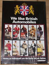 Prospekt British Leyland Programm 1979 Austin Jaguar Triumph Rover Innocenti