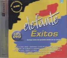 CD - Elefante NEW Exitos De Su Carrera DELUXE 1 CD & 1 DVD FAST SHIPPING !
