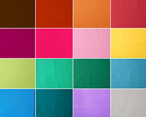 Solid / Plain Mercenised Quilting Cottons 55+ Colours