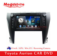 "8"" Car CD DVD Player GPS Nav Radio Stereo For Toyota Aurion 2015-2016"