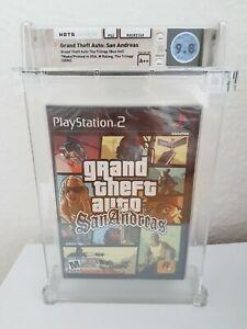 GTA Grand Theft Auto San Andreas Playstation 2 Wata 9,8 A++ PS2 kein VGA
