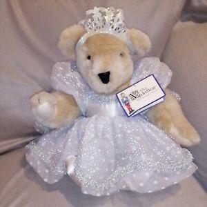 """1982 Vanderbear Alice Nutcracker Suite Collection 18"""" Stuffed Plush Bride Dress"""