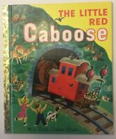 The Little Red Caboose (Little Golden Book) by Marian Potter, Tibor Gergely