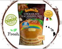 2 PACK - Hawaiian Sun CHOCOLATE MACADAMIA PANCAKE MIX  Natural flavored FRESH