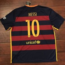 2015/16 Barcelona Home Jersey #10 Messi 2XL Nike Football Soccer Argentina NEW