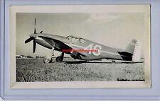 1946 P-51B NAA MUSTANG FIGHTER PAUL MANTZ BENDIX RACE WINNER ORIGINAL PHOTO WWII