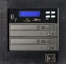 MediaStor #a50 MultiMedia 1-1 Copy USB CF SD MS Flash Memory to 1 DVD Duplicator