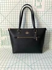 Coach Gallery Tote Shoulder Bag - Black