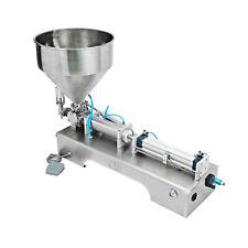 Single Head Pneumatic Shampoo Cosmetic Cream Filling Machine 30-500ML 110V 220V