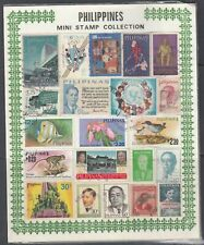 Philippines - Mini Stamp Collection