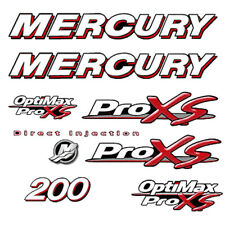 Mercury ProXS Series 200 HP Red Sticker Decal Kit