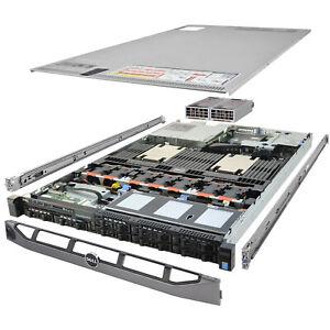 Dell PowerEdge R630 Server 2x E5-2667v3 3.20Ghz 16-Core 192GB 8x 900GB H730