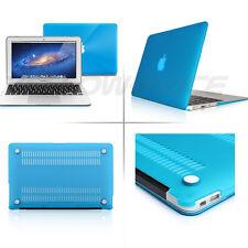 Sleeve Bag for Macbook Air 11'' 11.6'' Ruberized Hard Case + Blue Keyboard Cover