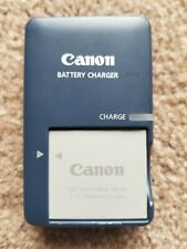 Canon CB-2LV Charger and Battery NB-4L for PowerShot Genuine Used