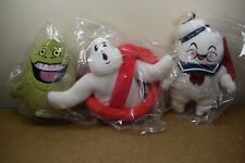 KIDROBOT PHUNNY GHOSTBUSTERS SLIMER, LOGO 'NO GHOST' & STAY PUFT Plushes Plush