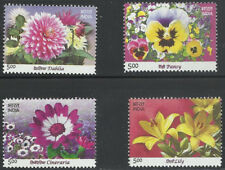 Flowers of India 2012 issue Indien Inde Flora Plants My Stamp Dahlia Pansy