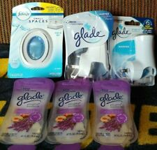 New Listing6 new Glade Plug Ins Refills Lavender and Peach, Glade Warmers, Small Spaces