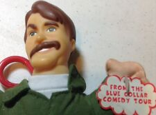 "Jeff Foxworthy Talking Doll 7"" Keychain Clip-on, Blue Collar Comedy Tour Redneck"