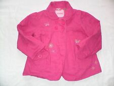 BEAUTIFUL CHEROKEE JACKET - AGE 18-24 MONTHS - PINK WITH BUTTERFLY AND FLOWERS